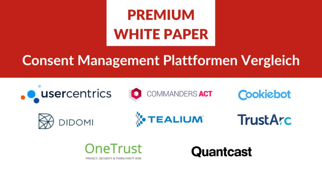 Premium Whitepaper Consent Management